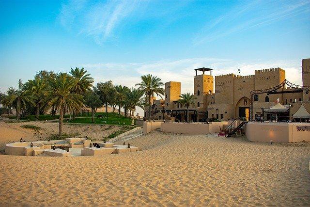 モルディブ旅行周遊ドバイ砂漠