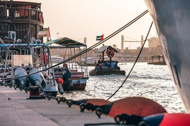 モルディブ旅行周遊ドバイ川